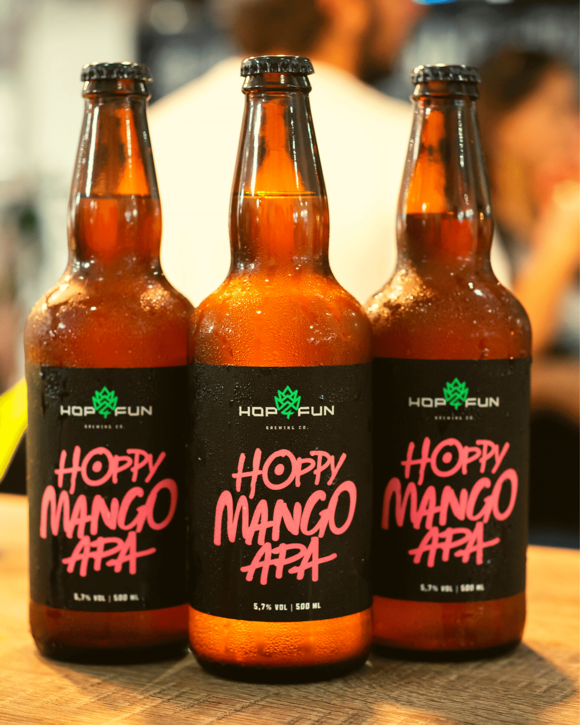 Hop For Fun cervejas especiais Hoppy Mango Apa