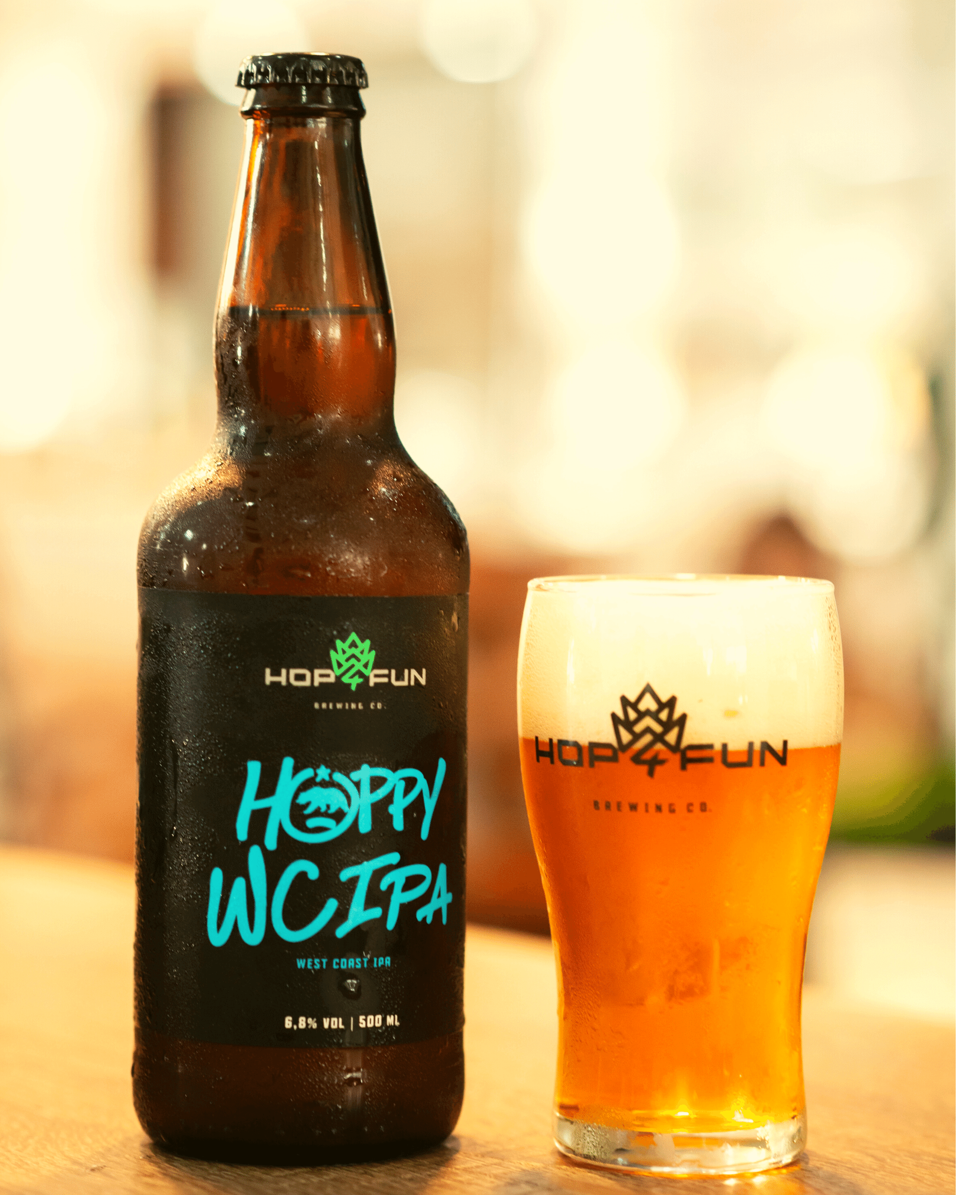 Hop For Fun cervejas especiais Hoppy WC Ipa