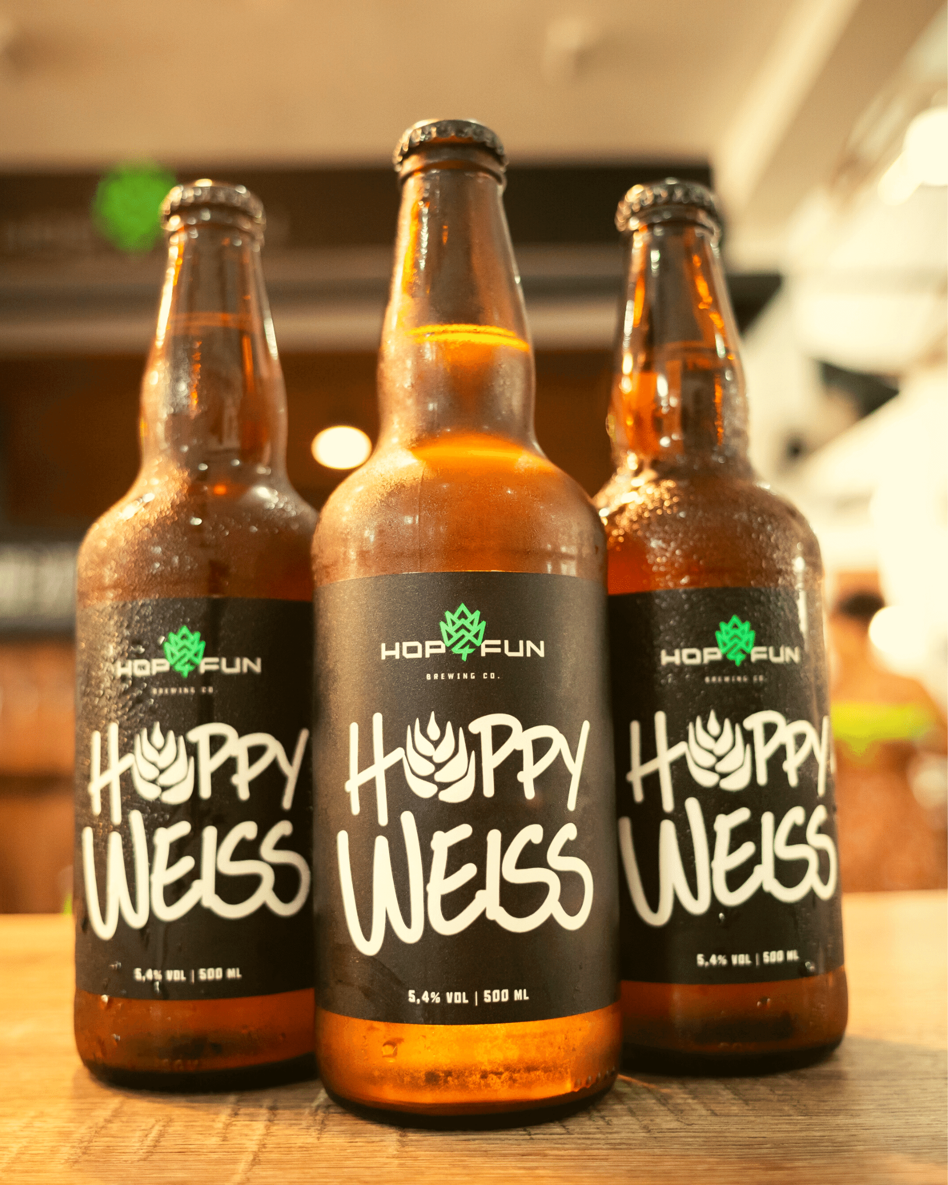 Hop For Fun cervejas especiais Hoppy Weiss