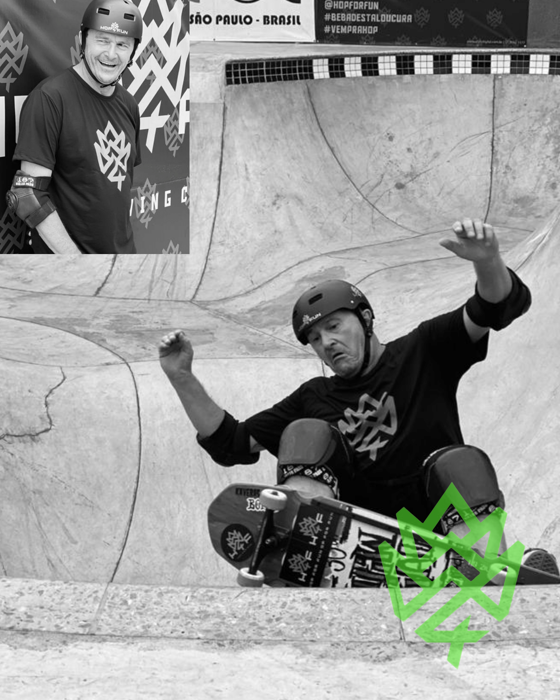 Antonio Pelliciotti Toco skate team hop for fun