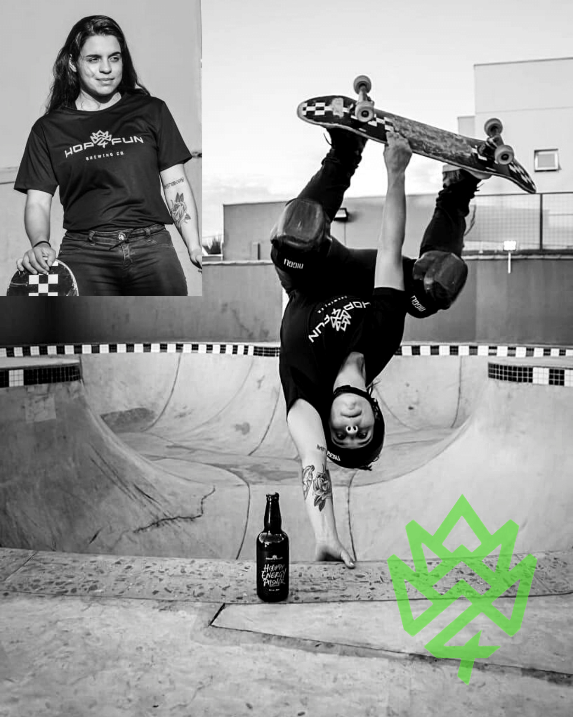 Julia Ventura skate team hop for-fun
